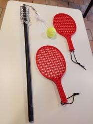 Tennisspiel höhenverstellbar